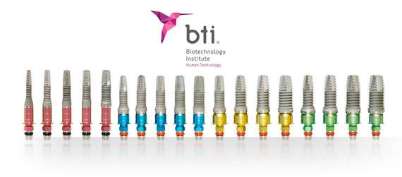 implantes dentales BTI. Clínicas Dentalcare Madrid