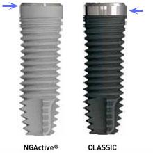partes de un implante 3i biomet