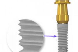 tornillo de implante roto